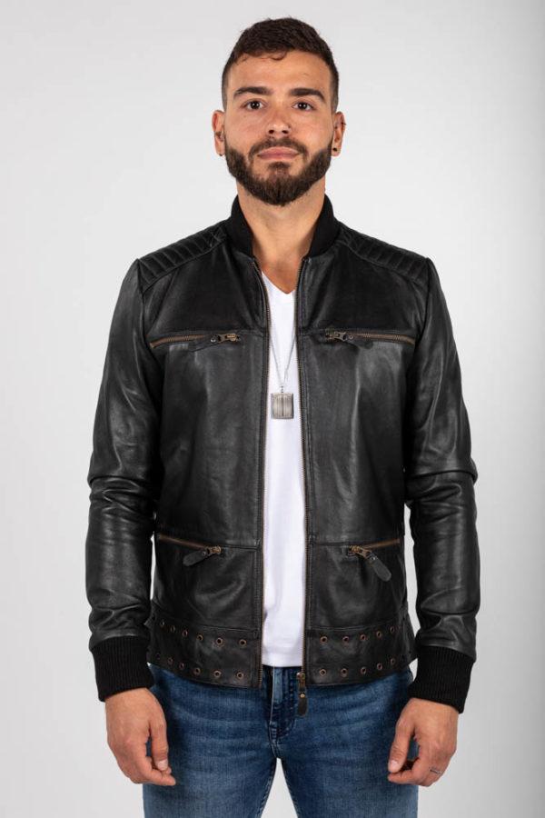 Zoef leather Bruce leren jas