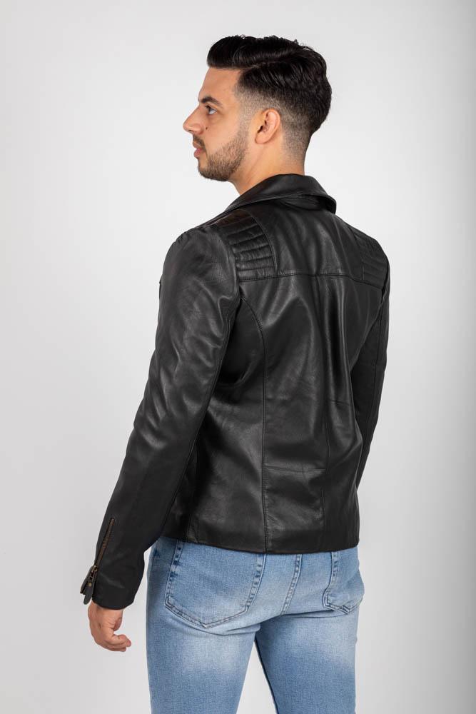 Zoef leather david leren jas-3