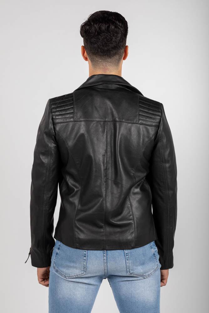 Zoef leather david leren jas-4