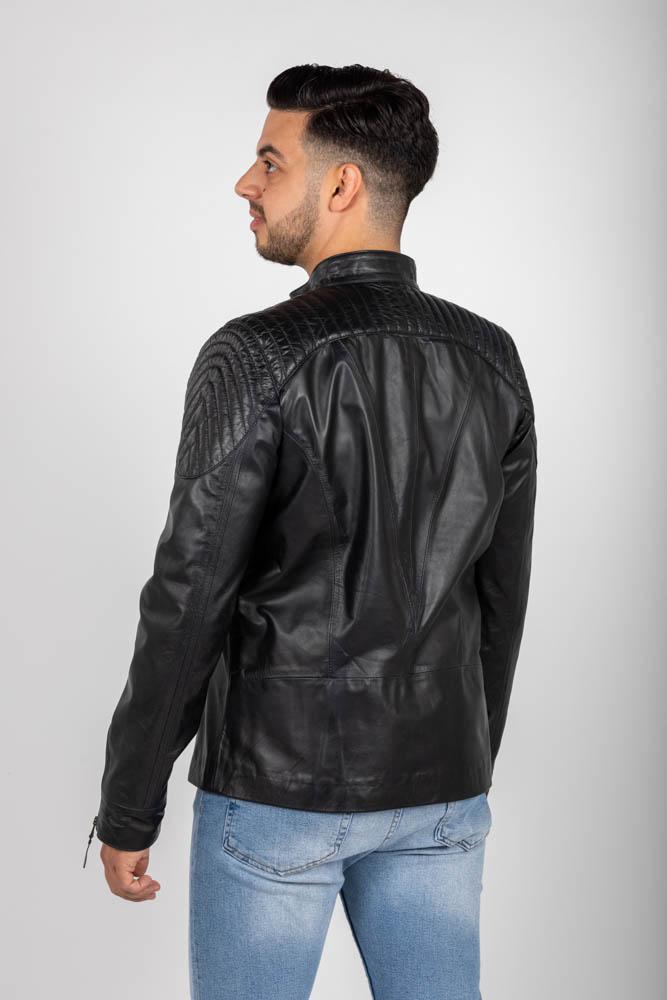 Zoef leather dennis leren jas-3