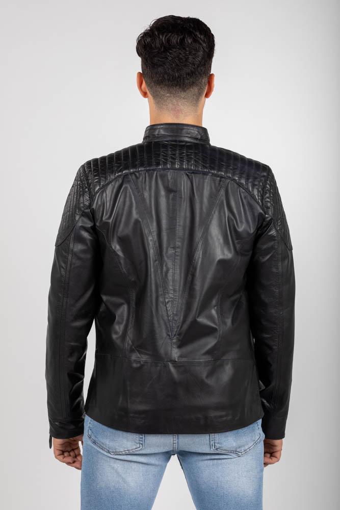 Zoef leather dennis leren jas-4
