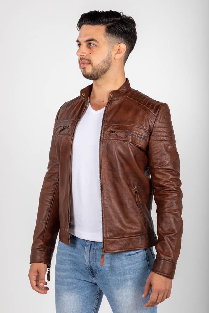 Zoef leather erik leren jas-2