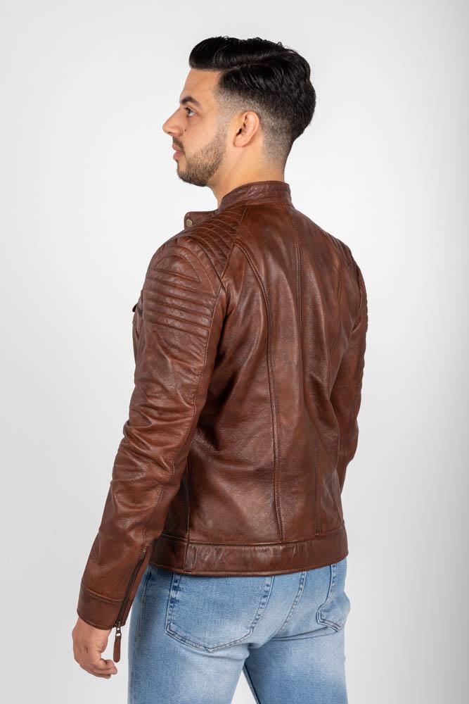 Zoef leather erik leren jas-3
