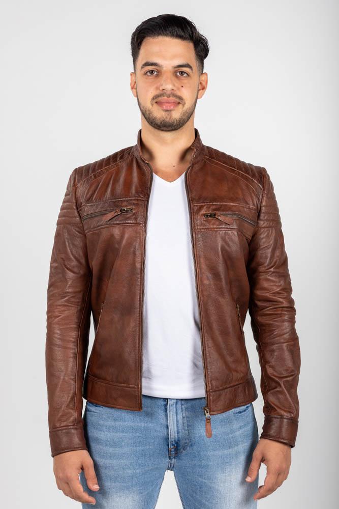 Zoef leather erik leren jas