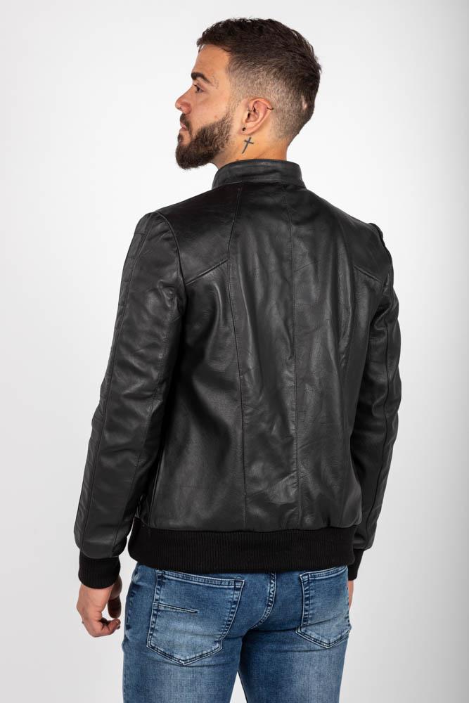 Zoef leather joe leren jas-3