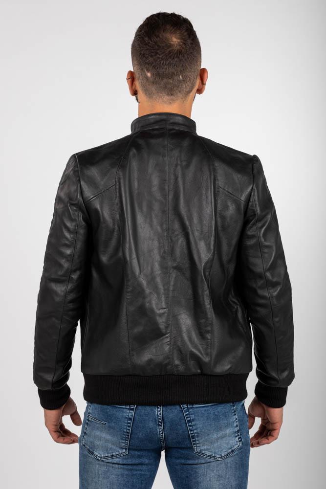 Zoef leather joe leren jas-4