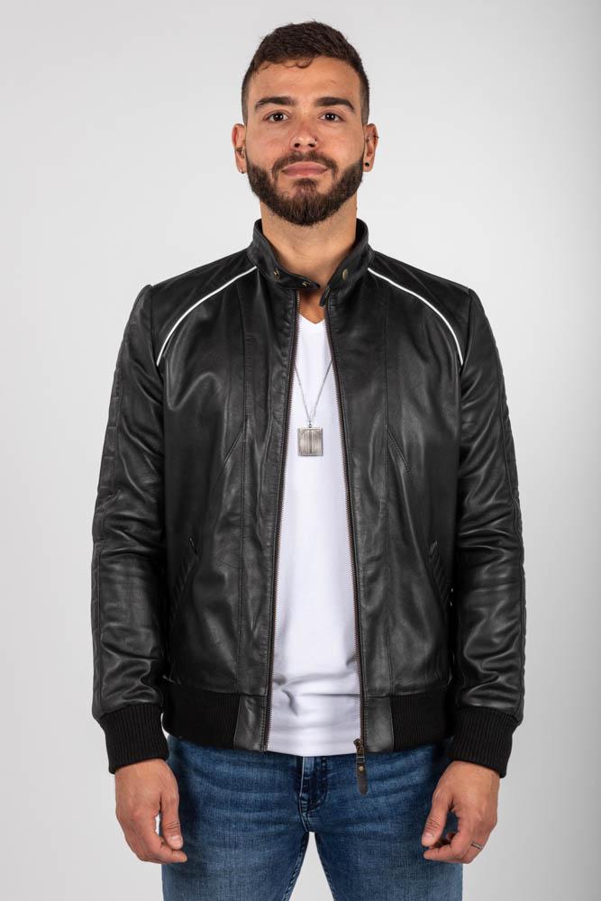 Zoef leather joe leren jas
