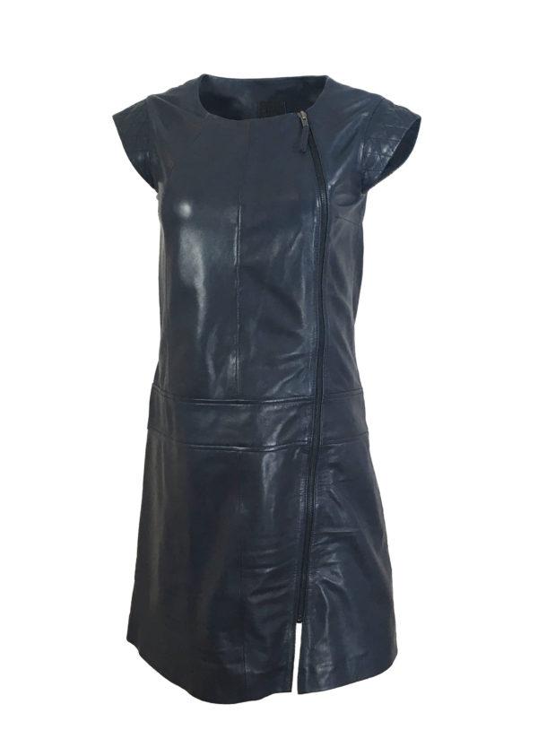 Zoef Leather Maddy Nachtblauw 1