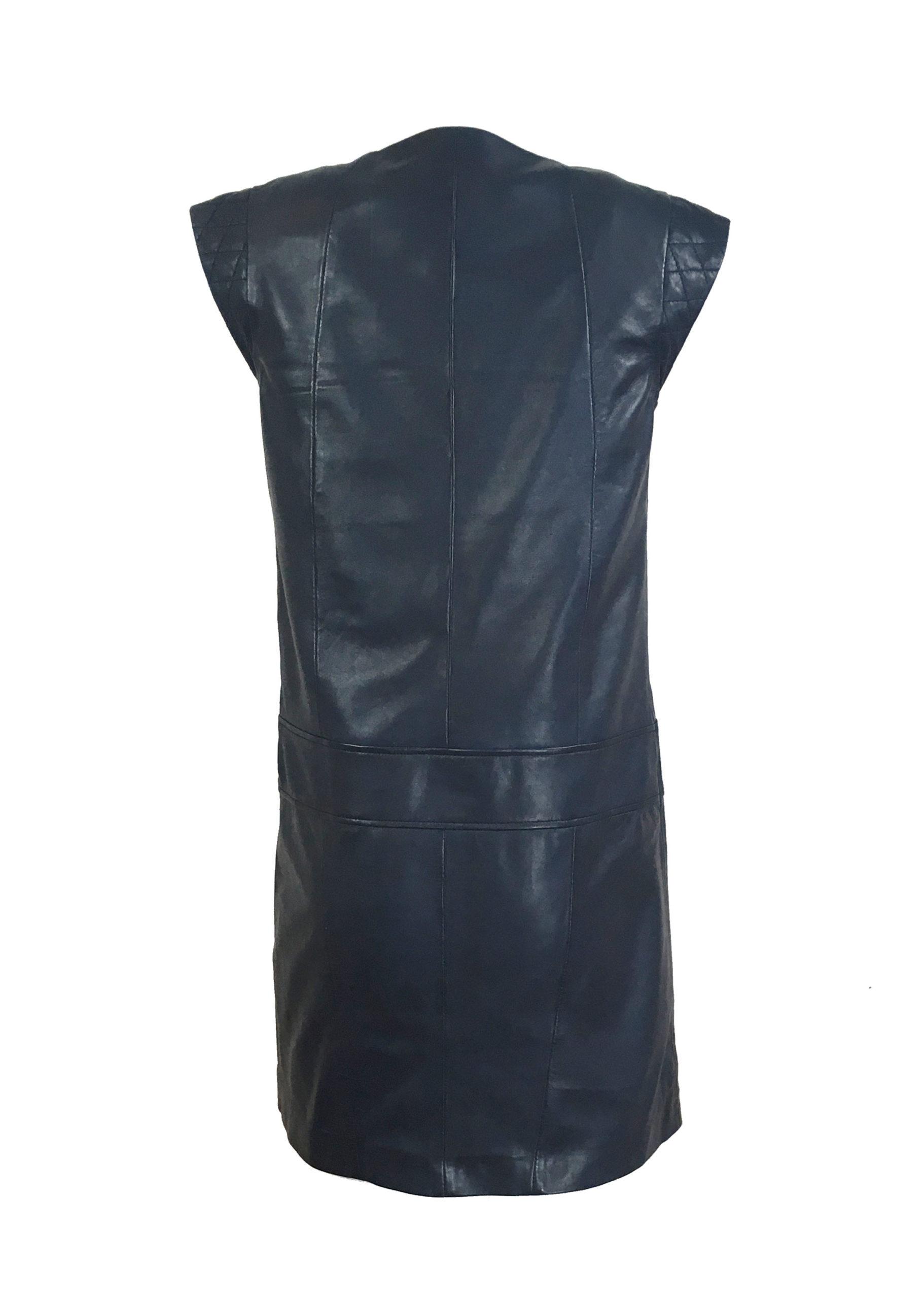 Zoef Leather Maddy Nachtblauw 2