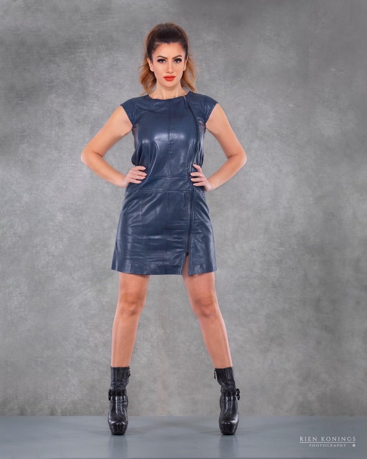 Zoef Leather Maddy Nachtblauw 4